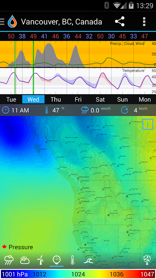 WeatherBomb Screenshot 4