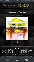 Screenshot of ShareON Audio DLNA MusicPlayer
