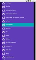 Screenshot of New Live Channels