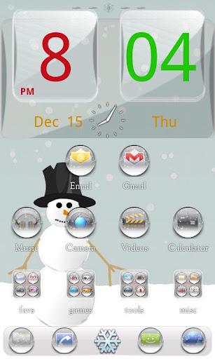 冬季聖誕轉到啟動