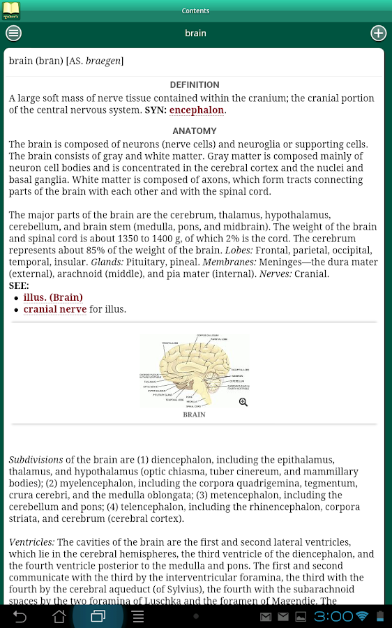 Taber's Medical Dictionary 22 Screenshot 8