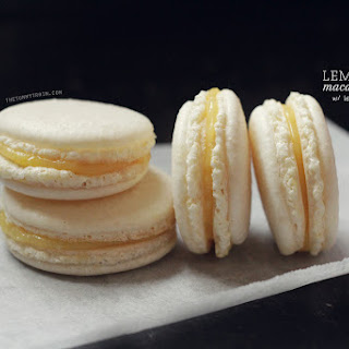 Lemon Macarons with 5-Minute Lemon Curd Filling