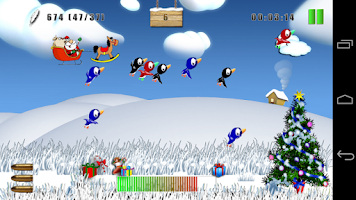 Screenshot of Duck Hunt Christmas