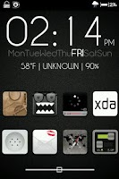 Screenshot of Cloudy Theme for CM7
