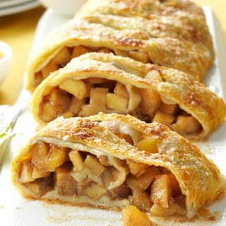Caramel Apple Strudel