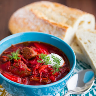 Borscht Recipe with Meat