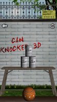 Screenshot of Can Knockdown - 3D