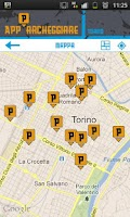 Screenshot of App Parcheggiare Torino