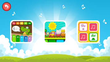 Screenshot of Fun Piano for kids