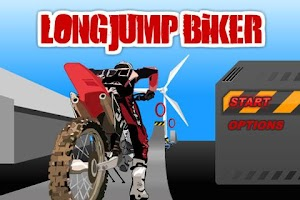 Screenshot of Long Jump Biker Free