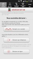 Screenshot of Géosécurisation