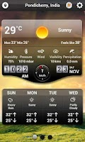 Screenshot of Weather+ HD - World Weather