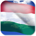 3D Hungary Flag + icon