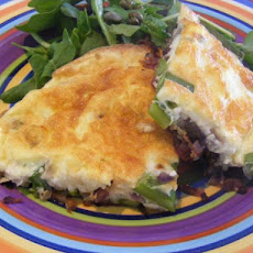 Asparagus Frittata With Rocket (21 Day Wonder Diet: Day 6)