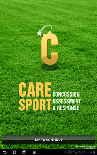 Concussion Assessment Response