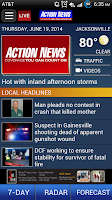 Screenshot of ActionNewsJax.com - News App