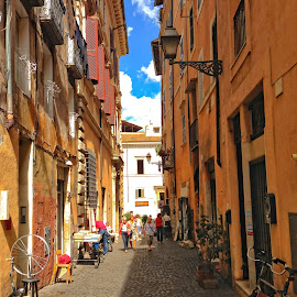 Rome by Angelo Peruzzi - City,  Street & Park  Historic Districts