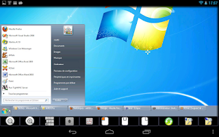 Screenshot of akRDCPro VNC viewer