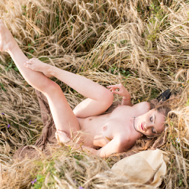 fields of joy..part 2 by Bogdan T. Fotografie - Nudes & Boudoir Artistic Nude ( field, erotic, body, sexy, nude, girl, art, hot, legs, alone )