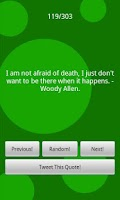 Screenshot of Funny Quotes