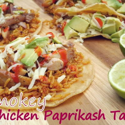 Smokey Chicken Paprikash Tacos