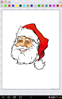 Screenshot of Merry Christmas Coloring Pages
