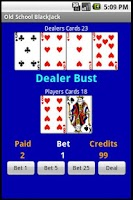 Screenshot of Free Old School BlackJack