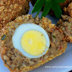 Masala Scotch Eggs