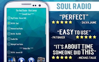 Screenshot of Free Soul Radio