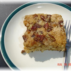 Toffee Bar Coffee Cake
