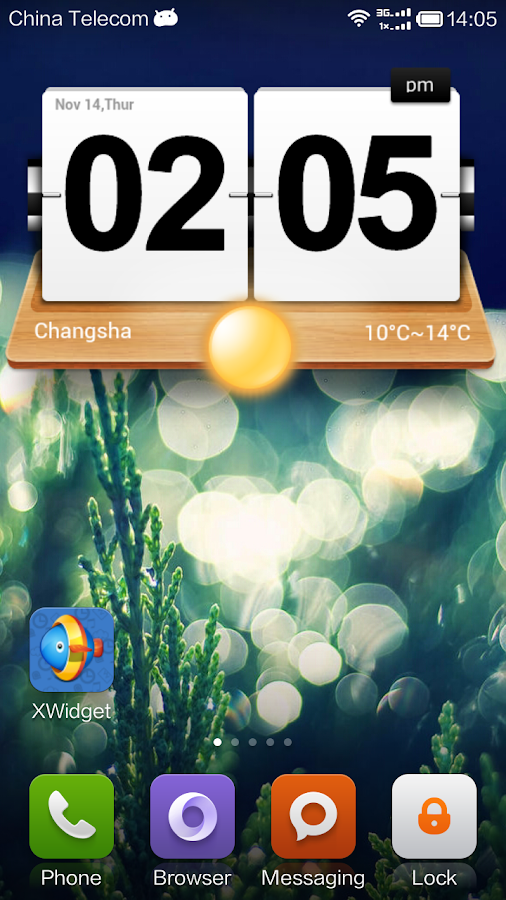 XWidget Screenshot 2
