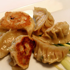 Pork and Chive Dumplings with Dried Shrimp