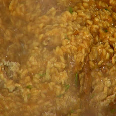 Smoked Beef and Caramelized Onion Risotto