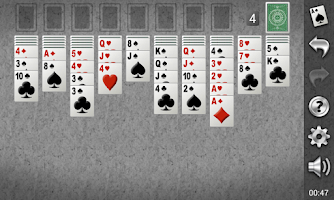 Screenshot of Yukon Gold Solitaire Demo