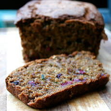 Zucchini Blackberry Bread