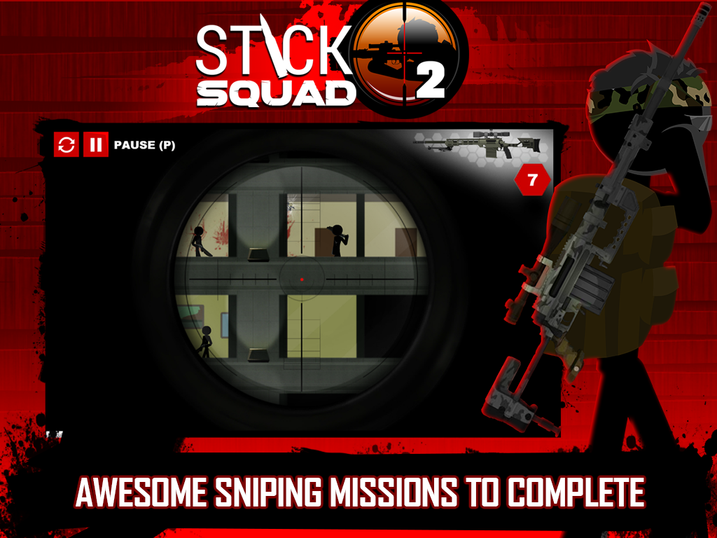 Stick Squad 2 - Shooting Elite Screenshot 9