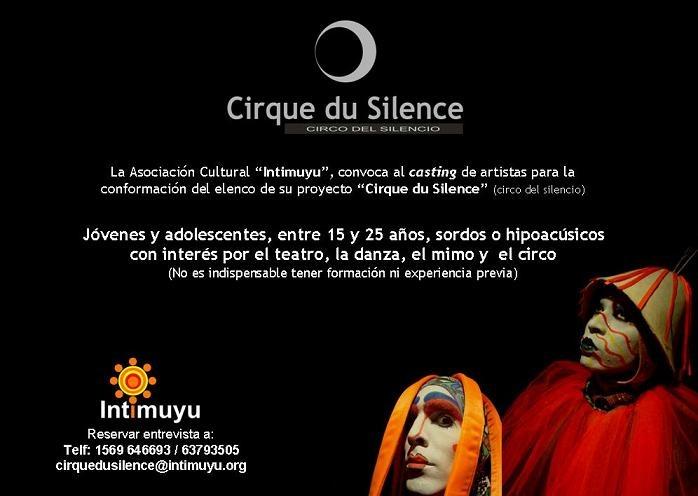 Casting CirqueDuSilence