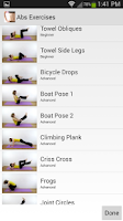 Screenshot of Abs Exercises
