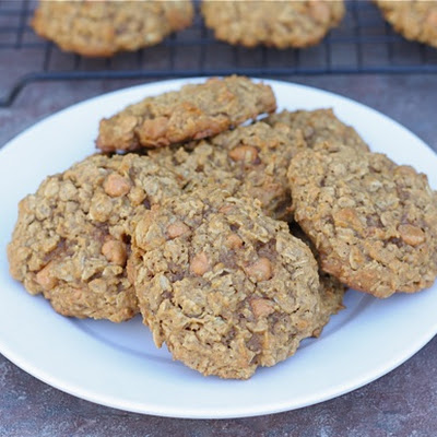 Pumpkin Oatmeal Cookies With Butterscotch Chips-a Fall Favorite!