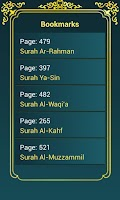 Screenshot of Holy Quran (16 lines per page)