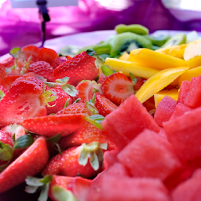 Multicolor food by Peter Wabbel - Food & Drink Candy & Dessert ( fruit, masterofthemoment, multicolor, mallorca, majorca, dessert, color, colors, landscape, portrait, object, filter forge )