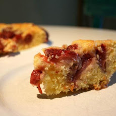 Strawberry - Rhubarb Coffee Cake