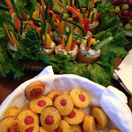 Super Snacks by Tonya Levy - Food & Drink Plated Food ( vegetables, horsdeovres, snacks, appetizers, party food )