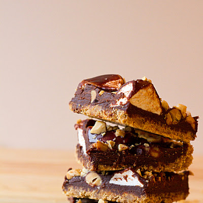 S'more Nut Bars