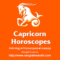 Screenshot of Capricorn Horoscope मकर राशिफल