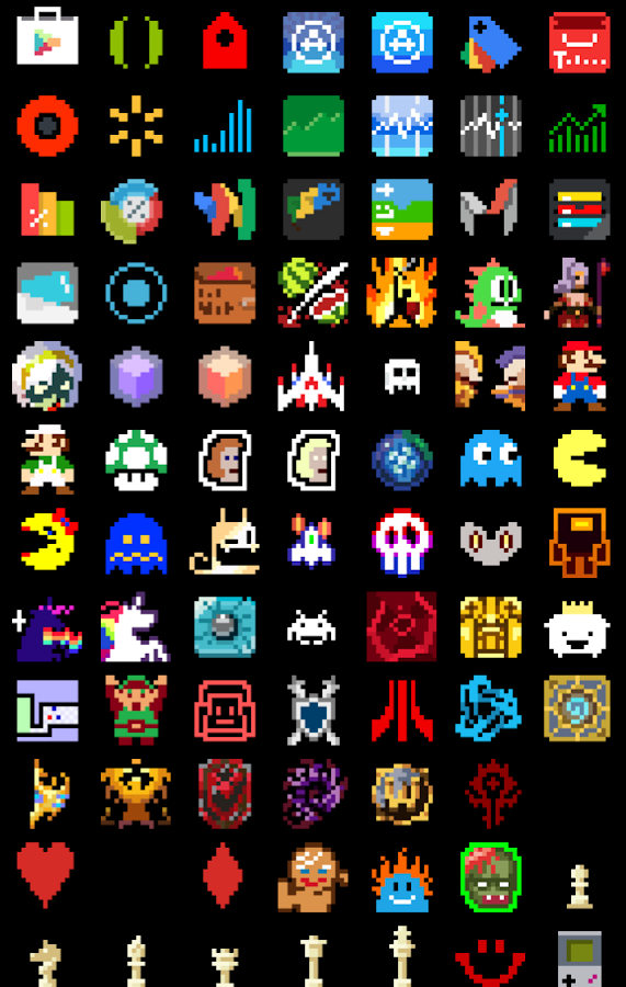 8-BIT Icon Theme Screenshot 13