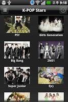 Screenshot of Kpop Search (Youtube)