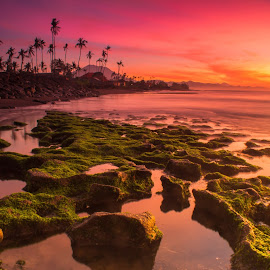 Manyar Beach by Evans Getha - Landscapes Sunsets & Sunrises