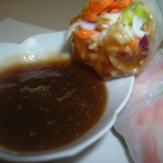 Thai Dipping Sauce for Spring Wrap or Egg Rolls