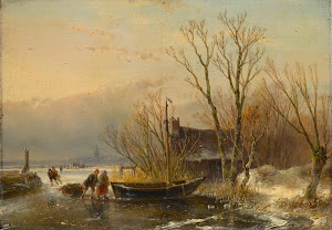 RIJKS: Andreas Schelfhout: painting 1849